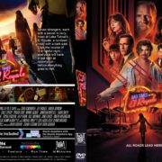 Bad Times At The El Royale (2018) R1 CUSTOM DVD Cover & Label