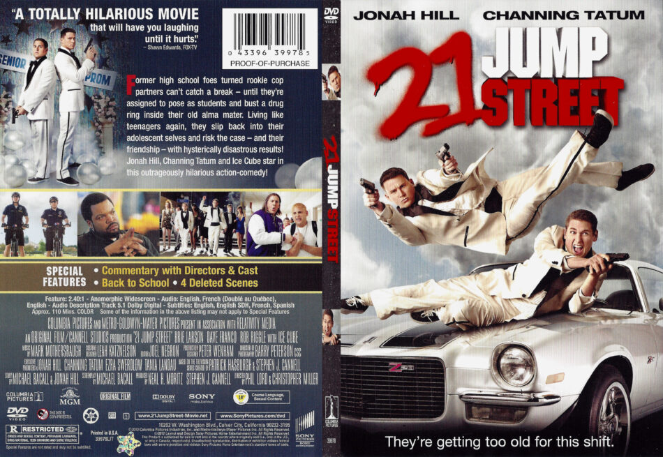 21 Jump Street 2012 R1 Slim Dvd Cover Dvdcover Com