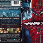 The Amazing Spiderman (2012) R1 SLIM DVD Cover