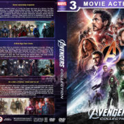 Avengers Collection (2012-2018) R1 Custom DVD Cover
