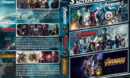 Avengers Triple Feature (2012-2018) R1 Custom DVD Cover