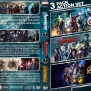 Avengers Triple Feature (2012-2018) R1 Custom DVD Cover