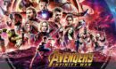 Avengers: Infinity War (2018) R1 Custom DVD Label