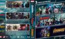 Avengers Triple Feature (2012-2018) R1 Custom Blu-Ray Cover