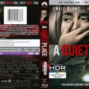 A Quiet Place (2018) R1 4K UHD Blu-Ray Cover