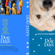 Dog Days (2018) R0 Custom DVD Cover & Label