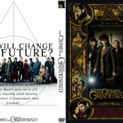 Fantastic Beasts: The Crimes of Grindelwald (2018) R0 Custom DVD Cover