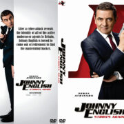Johnny English Strikes Again (2018) R0 Custom DVD Cover & Label