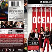 Ocean's Eight (2018) 4K UHD Cover