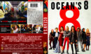 Ocean's Eight (2018) R1 DVD Cover & Label