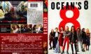 Ocean's Eight (2018) R1 DVD Cover & Label
