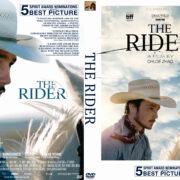 The Rider (2018) R0 Custom DVD Cover & Label