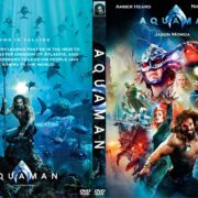 Aquaman (2018) R0 Custom DVD Cover & Label