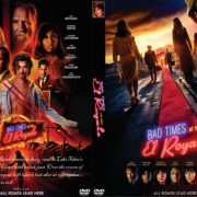 Bad Times at the El Royale (2018) R0 Custom DVD Cover