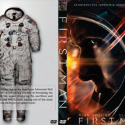 First Man (2018) R0 Custom DVD Cover