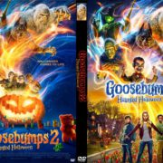 Goosebumps 2: Haunted Halloween (2018) R0 Custom DVD Cover & Label