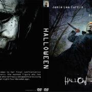 Halloween (2018) R0 Custom DVD Cover & Label