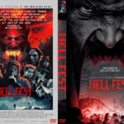 Hell Fest (2018) R0 Custom DVD Cover & Label
