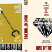 King of Thieves (2018) R0 Custom DVD Cover & Label