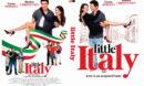 Little Italy (2018) R0 Custom DVD Cover