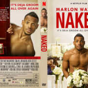 Naked (2017) R1 Custom DVD Cover