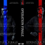 Operation Finale (2018) R0 Custom DVD Cover & Label