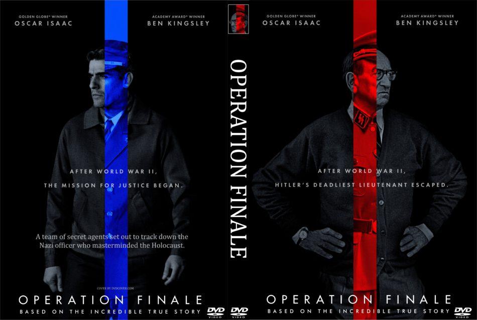 Operation Finale (2018) R0 Custom DVD Cover & Label - DVDcover.Com