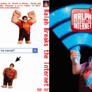 Ralph Breaks the Internet: Wreck-It Ralph 2 (2018) R0 Custom DVD Cover