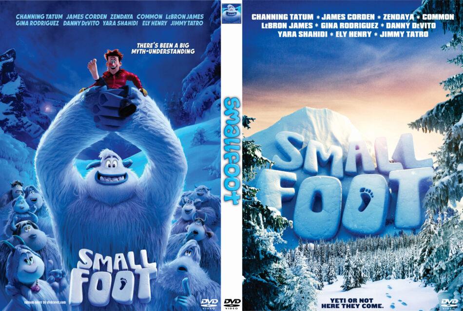 Smallfoot 2018 R0 Custom Dvd Cover Label Dvdcover Com