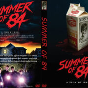 Summer of 84 (2018) R0 Custom DVD Cover & Label