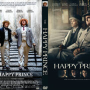 The Happy Prince (2018) R0 Custom DVD Cover