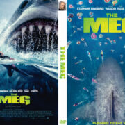 The Meg (2018) R0 Custom DVD Cover & Label
