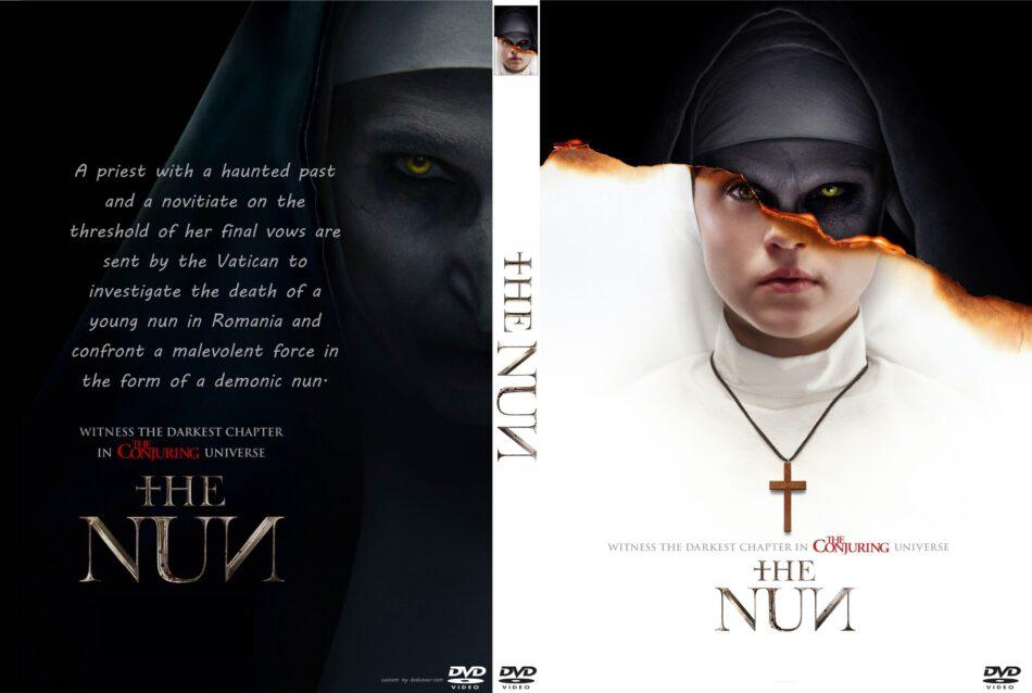The Nun 2018 R0 Custom Dvd Cover Label Dvdcover Com