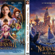 The Nutcracker and the Four Realms (2018) R0 Custom DVD Cover