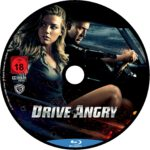 Drive Angry (2011) R2 German Custom Blu-Ray Label