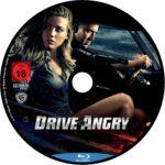 Drive Angry (2011) R2 German Custom Blu-Ray Label