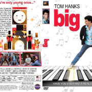Big (1988) R1 Custom DVD Cover & Label