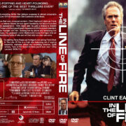 In the Line of Fire (1993) R1 Custom DVD Cover