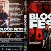 Blood Fest (2018) R1 Custom DVD Cover