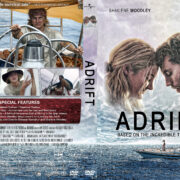 Adrift (2018) R1 Custom DVD Cover & Label V2