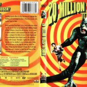 20 Million Miles To Earth (1957) R1 DVD Cover & Label