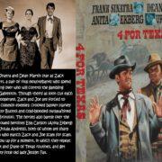 4 For Texas (1963) R0 Custom DVD Cover