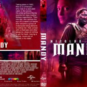 Mandy (2018) R0 CUSTOM DVD Cover & Label
