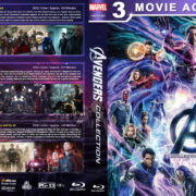 Avengers Collection (2012-2018) R1 Custom Blu-Ray Cover