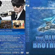 The Blues Brothers (1980) R1 Custom DVD Cover & Label v2