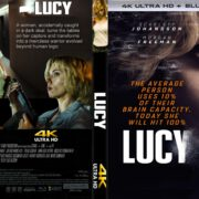 Lucy (2014) R1 CUSTOM 4K UHD Cover