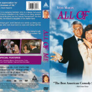 All of Me (1984) R1 Custom DVD Cover & Label
