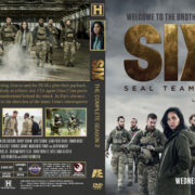Six: Season 2 (2018) R1 Custom DVD Covers