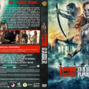 Tomb Raider (2018) R1 Custom DVD Cover & Label V2