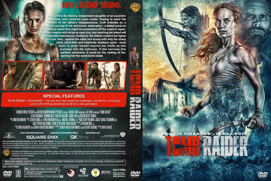 Tomb Raider 2018 R1 Custom Dvd Cover Label V2 Dvdcover Com